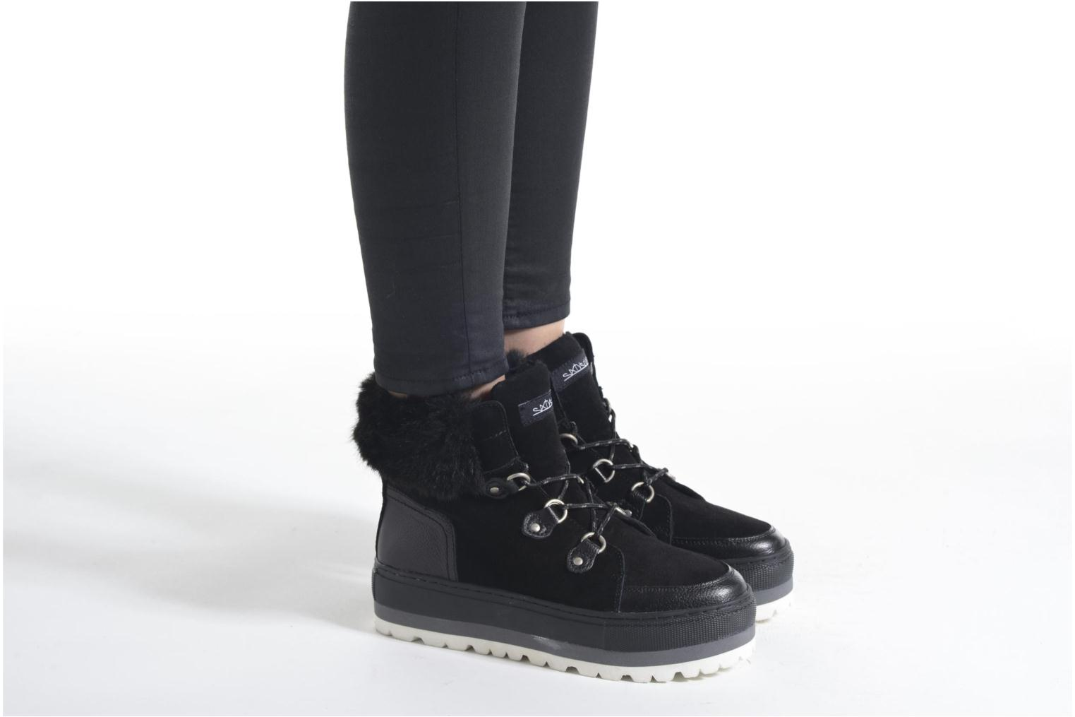 Ankle boots Sixty Seven Alisson Black view from underneath / model view