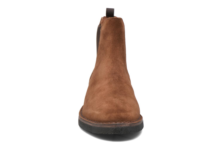 Bottines et boots Frye Arden Chealsea Marron vue portées chaussures