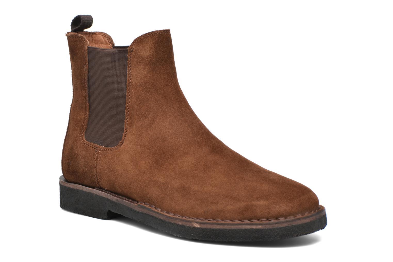 Bottines et boots Frye Arden Chealsea Marron vue détail/paire
