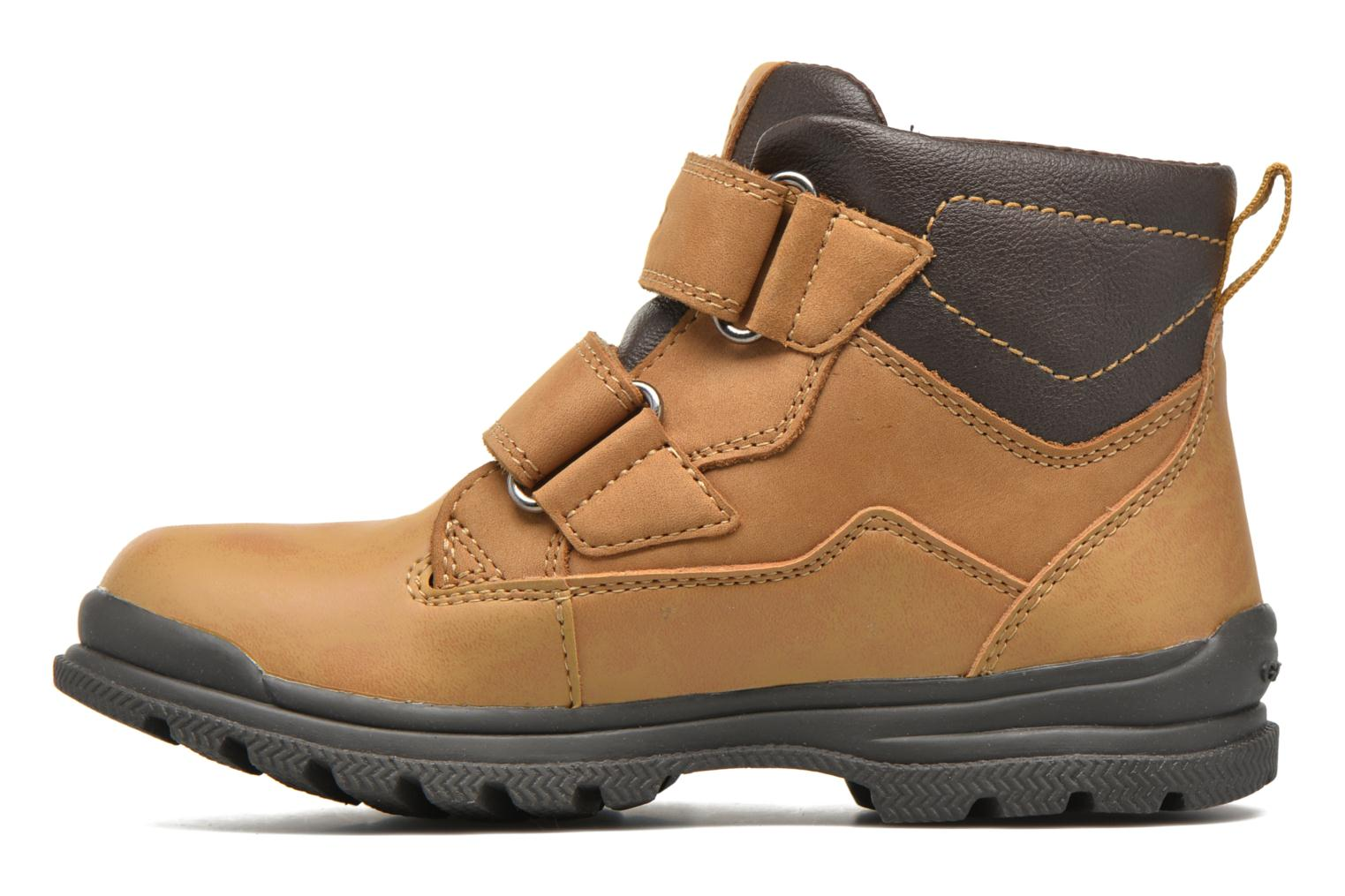 Ankle boots Geox J William B Abx A J6431A Beige front view