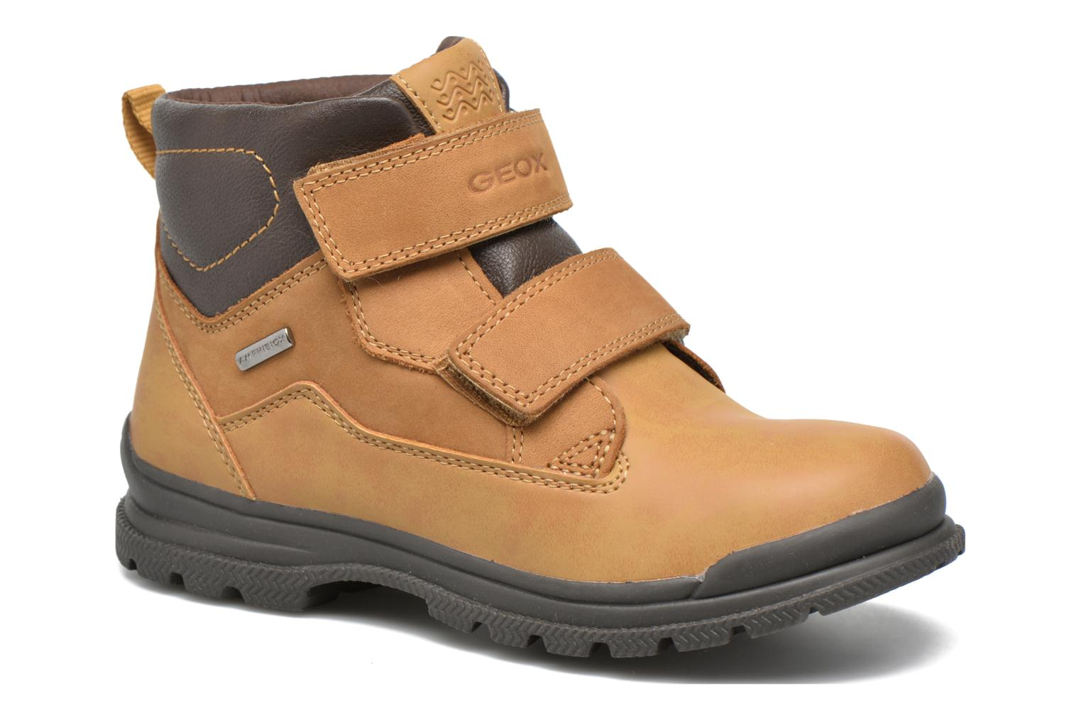 Ankle boots Geox J William B Abx A J6431A Beige detailed view/ Pair view