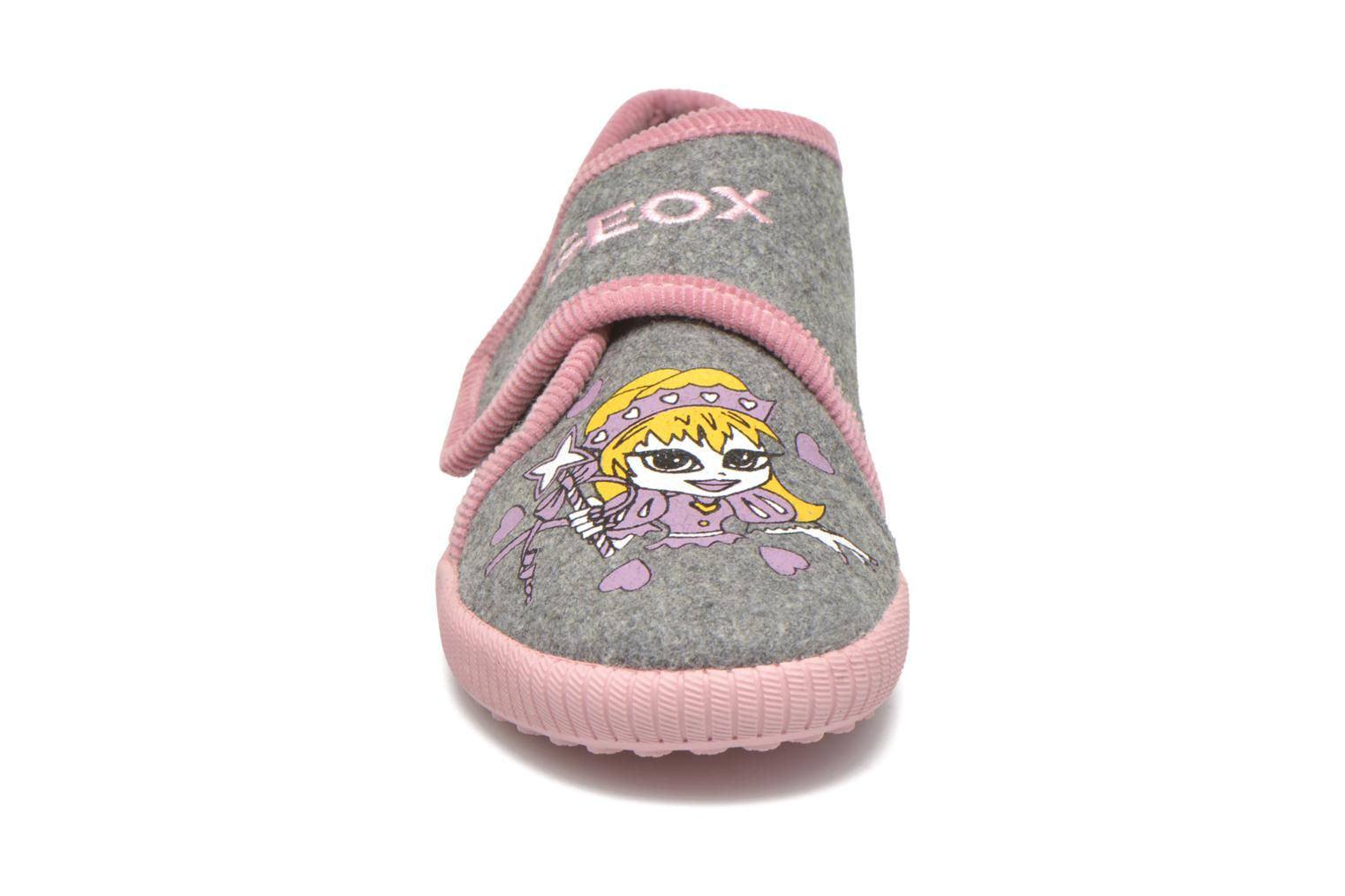Slippers Geox J Home G. A J4414A Grey model view