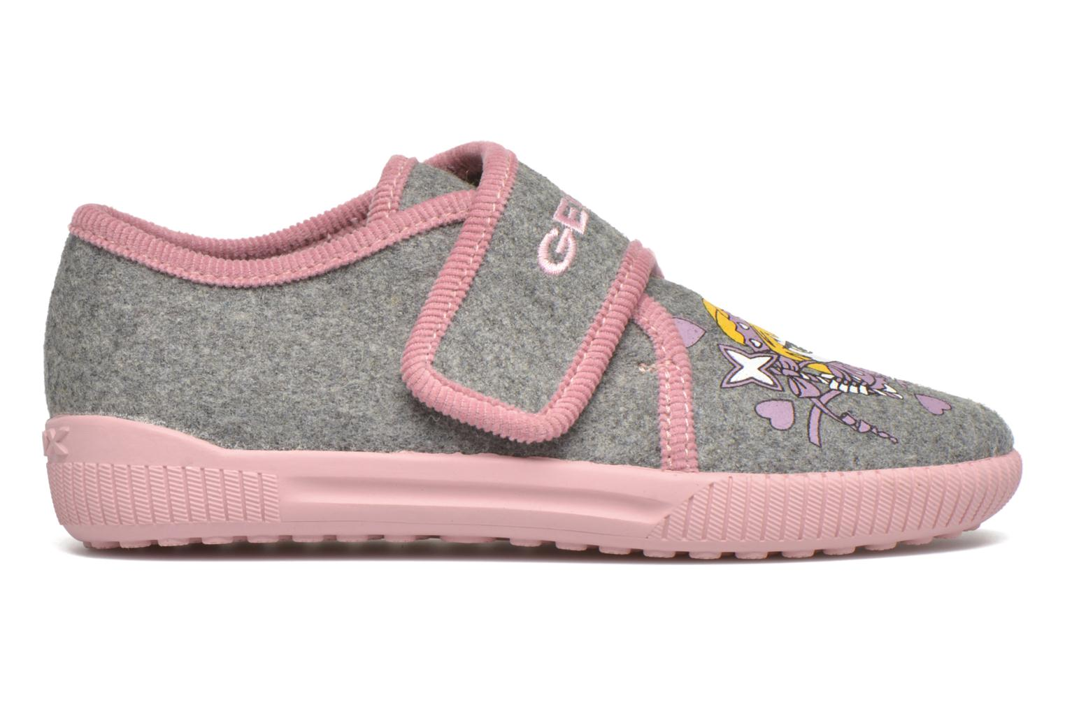 Slippers Geox J Home G. A J4414A Grey back view