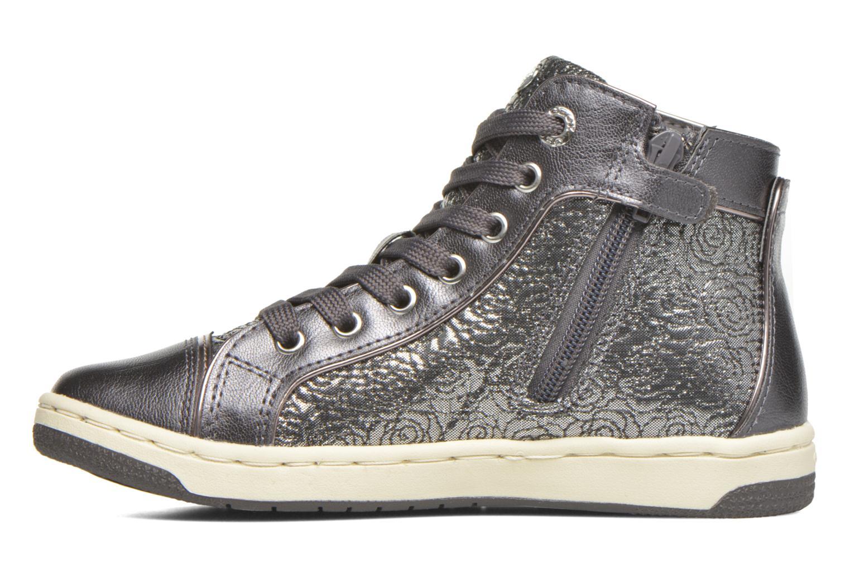 Sneaker Geox J Creamy E J62L5E silber ansicht von vorne
