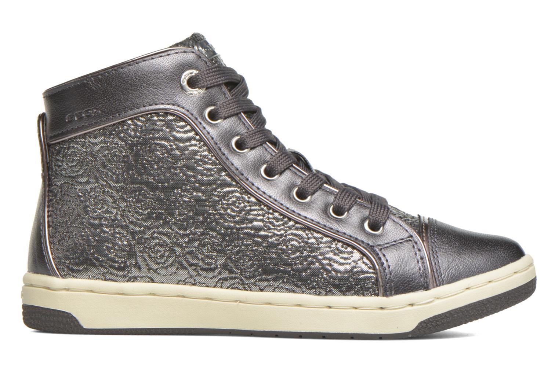 Sneaker Geox J Creamy E J62L5E silber ansicht von hinten