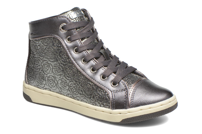 Sneaker Geox J Creamy E J62L5E silber detaillierte ansicht/modell