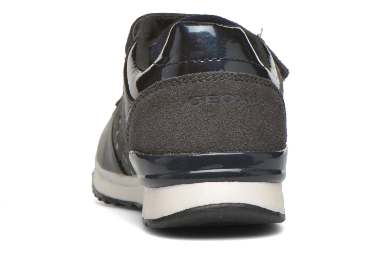 Sneaker Geox J Maisie G. E J6403E grau ansicht von rechts