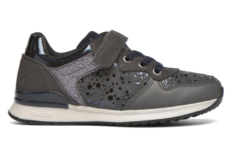 Sneaker Geox J Maisie G. E J6403E grau ansicht von hinten