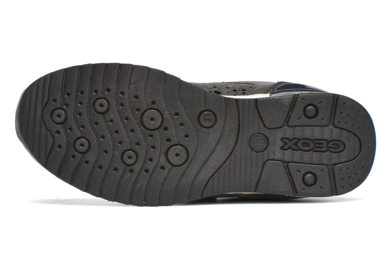 Sneaker Geox J Maisie G. E J6403E grau ansicht von oben
