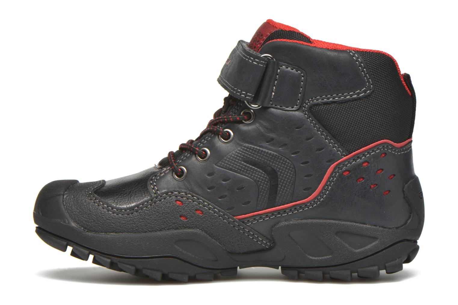 Ankle boots Geox J N.Savage B.D J641VD Black front view