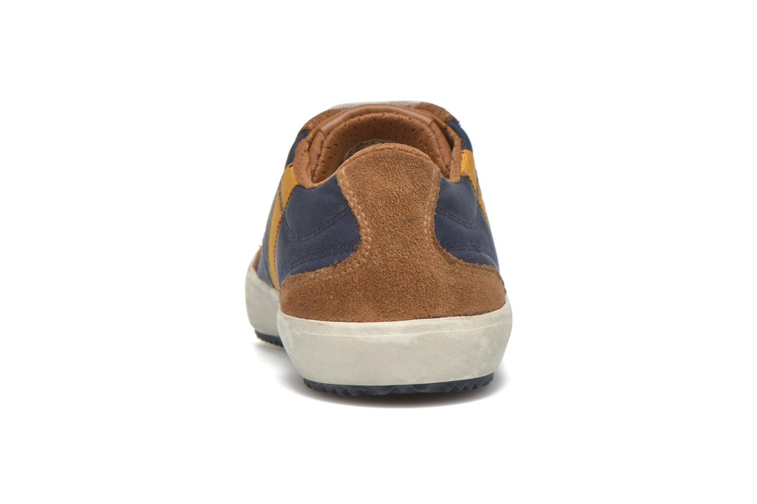 Trainers Geox J Alonisso B. A J642CA Blue view from the right