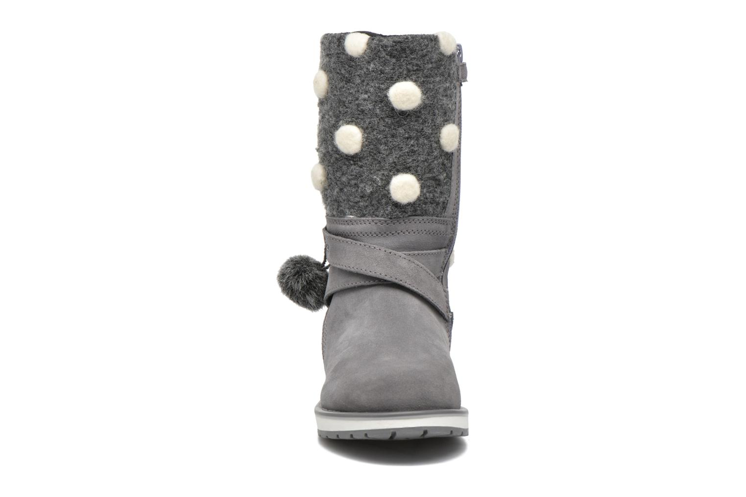 Boots & wellies Geox J Noha A J6460A Grey model view