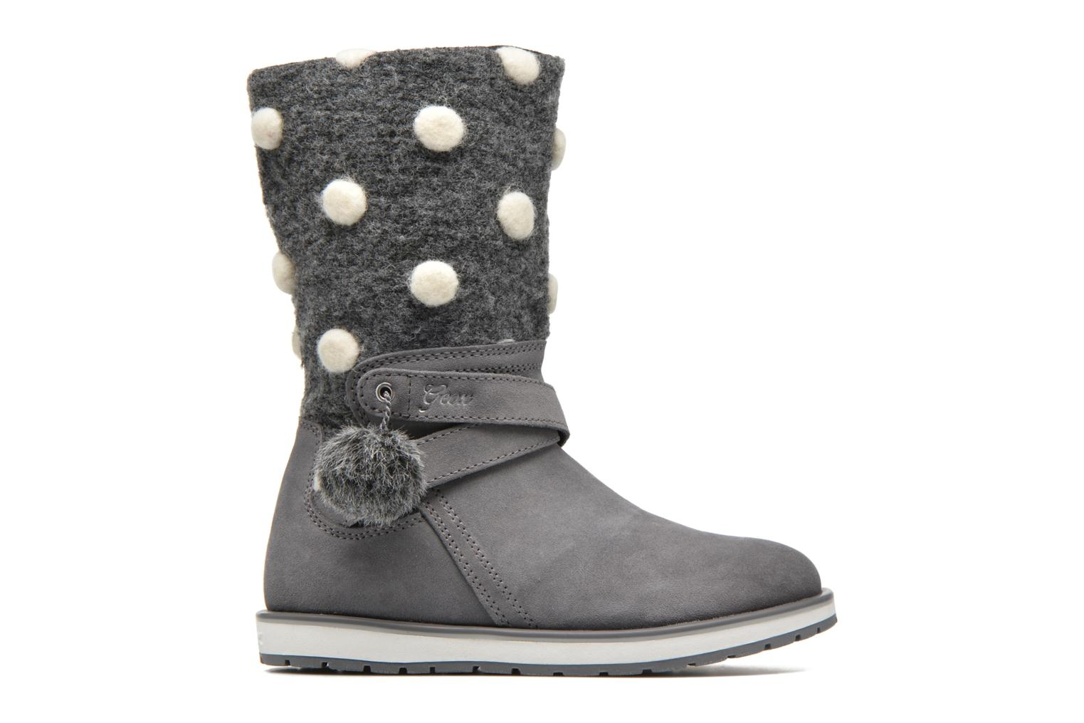 Boots & wellies Geox J Noha A J6460A Grey back view