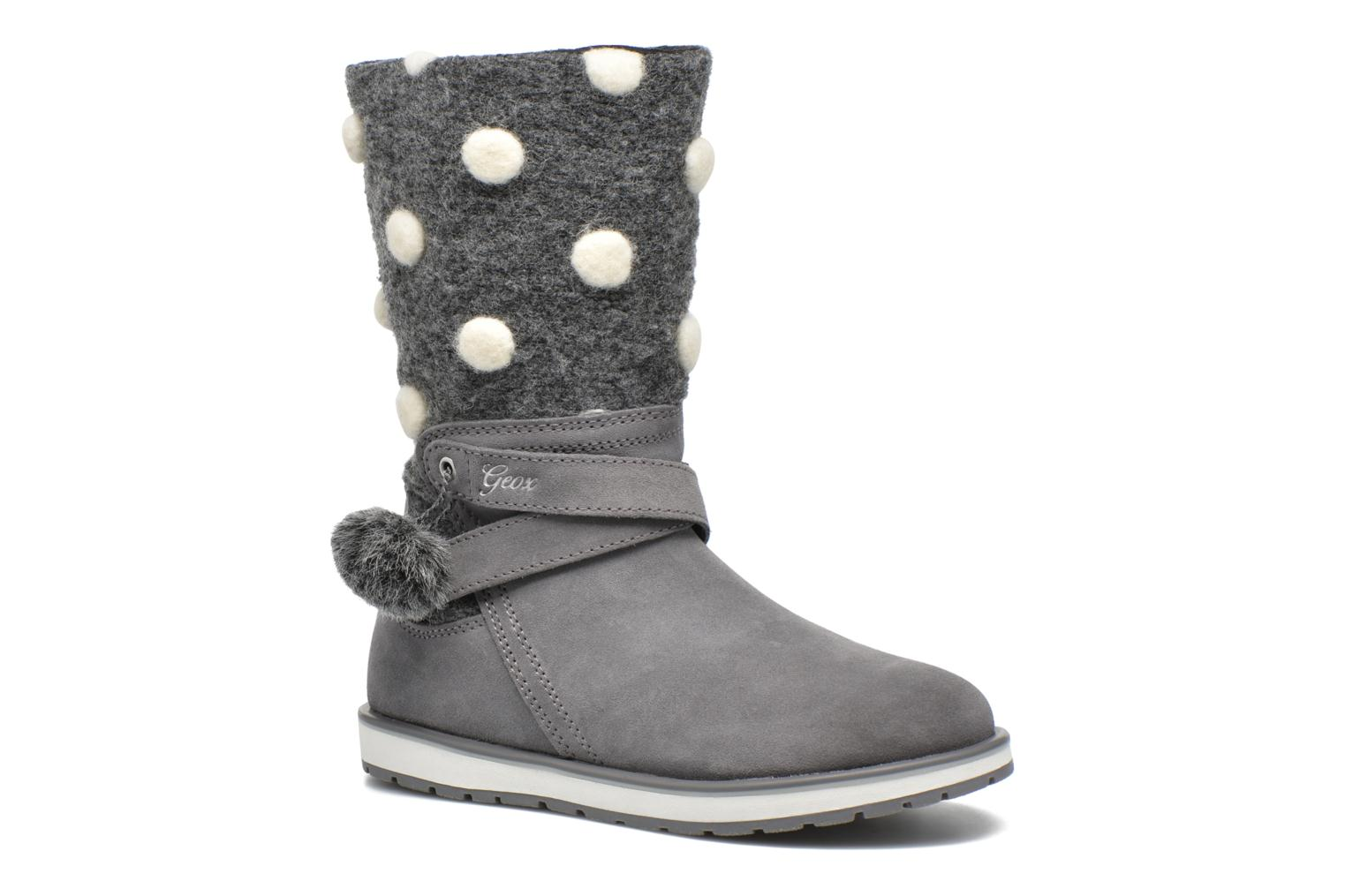 Boots & wellies Geox J Noha A J6460A Grey detailed view/ Pair view