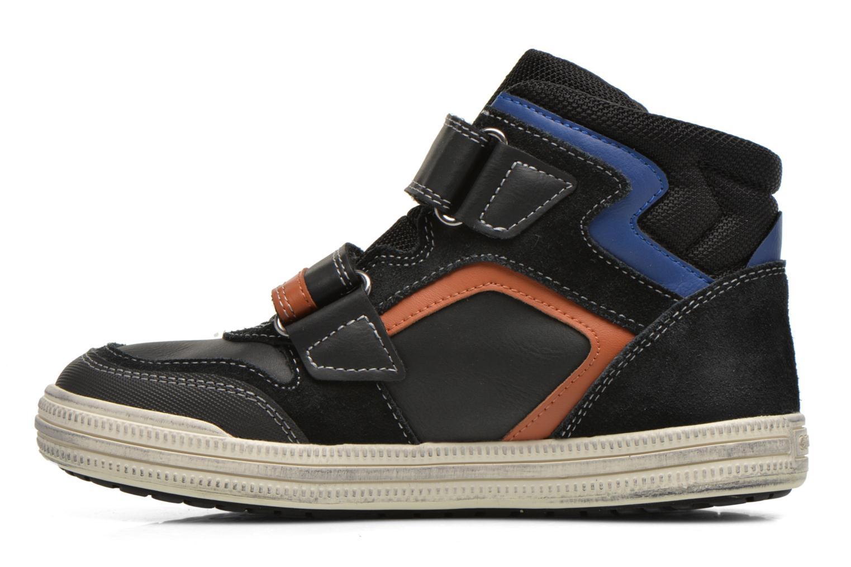 Sneaker Geox J Elvis H J64A4H schwarz ansicht von vorne