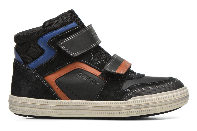 Sneaker Geox J Elvis H J64A4H schwarz ansicht von hinten
