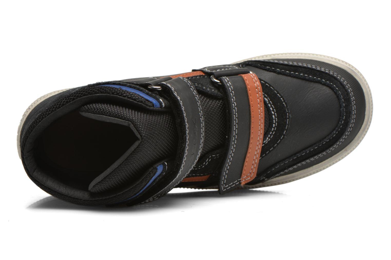 Sneaker Geox J Elvis H J64A4H schwarz ansicht von links