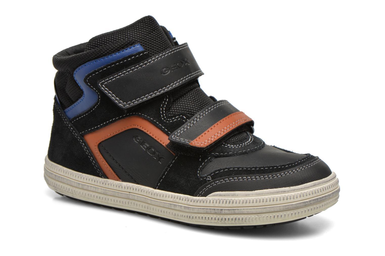 Sneaker Geox J Elvis H J64A4H schwarz detaillierte ansicht/modell