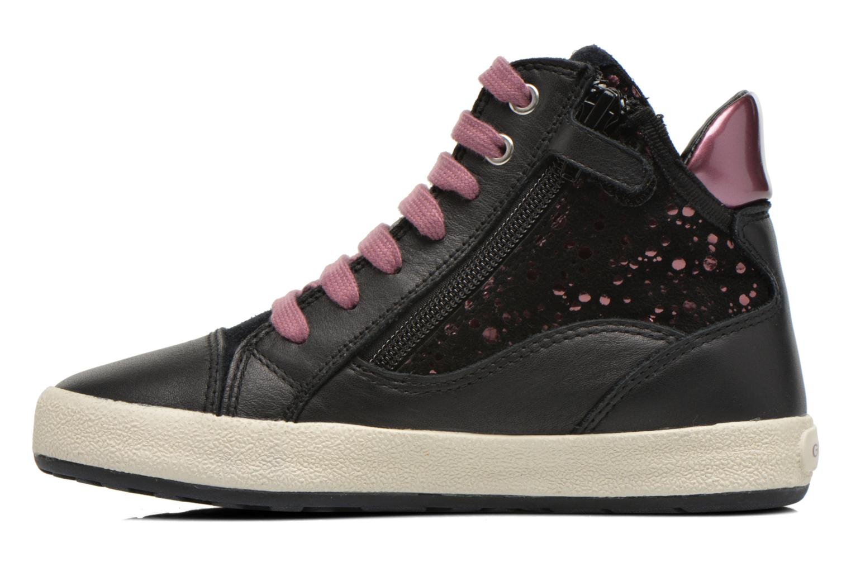 Sneakers Geox J Witty B J64C8B Nero immagine frontale