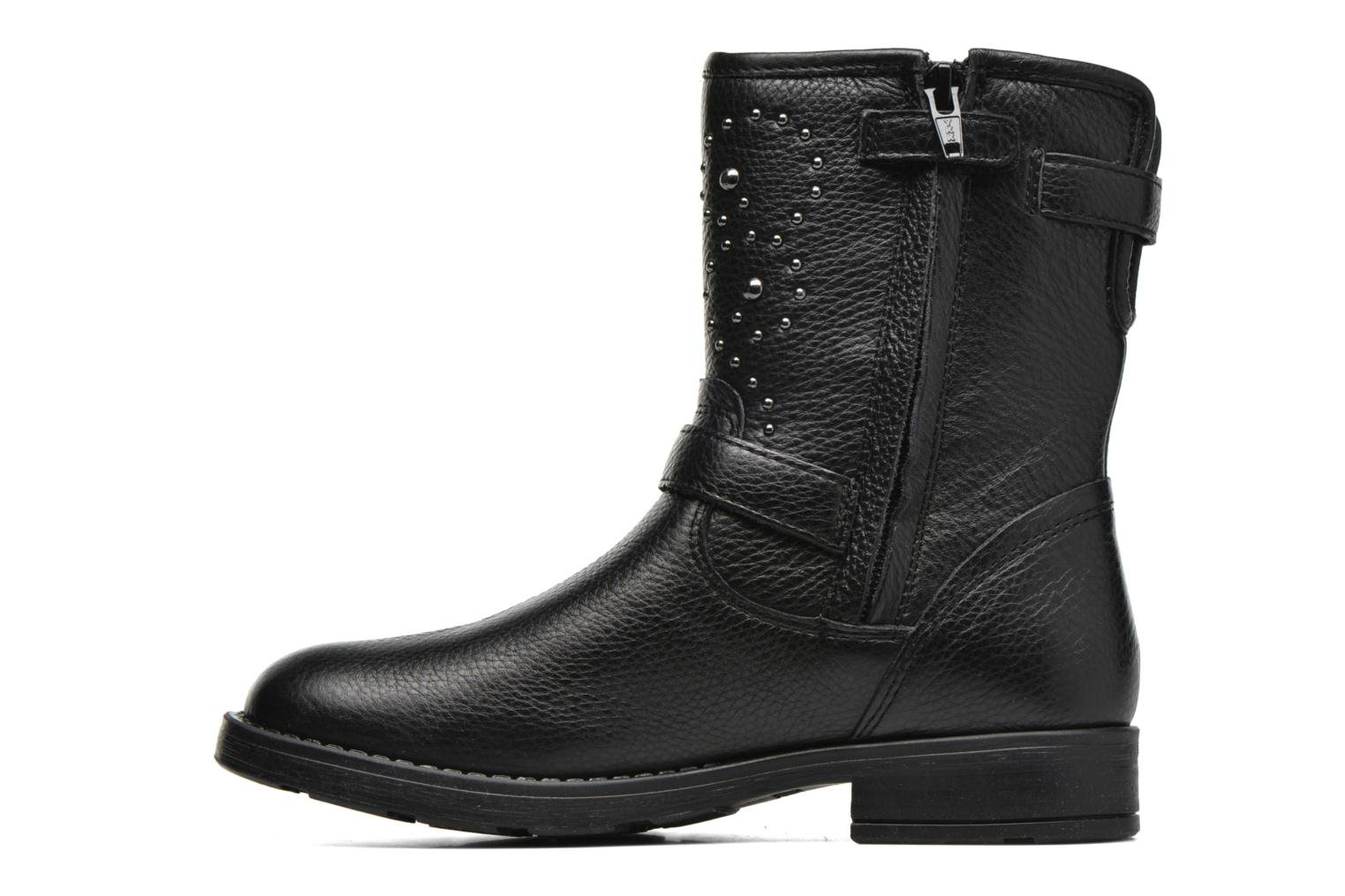 Boots & wellies Geox J Sofia D J64D3D Black front view