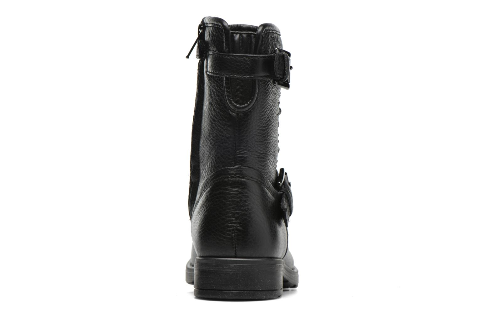Boots & wellies Geox J Sofia D J64D3D Black view from the right