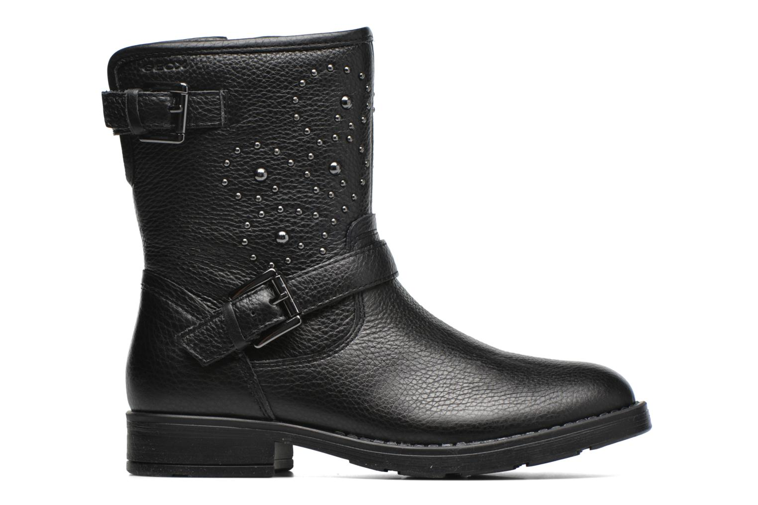 Boots & wellies Geox J Sofia D J64D3D Black back view
