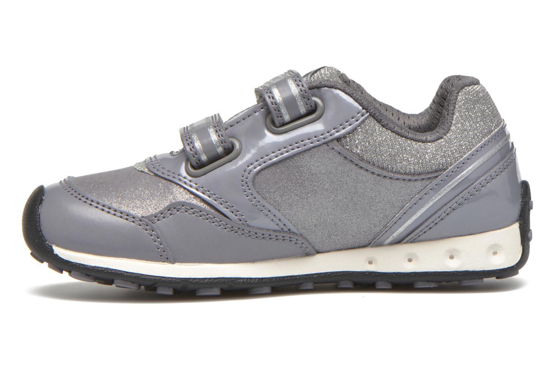 Sneaker Geox J N.Jocker G.A J64G2A grau ansicht von vorne