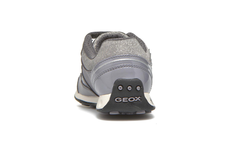Sneaker Geox J N.Jocker G.A J64G2A grau ansicht von rechts