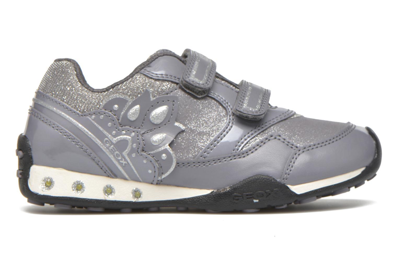 Sneaker Geox J N.Jocker G.A J64G2A grau ansicht von hinten