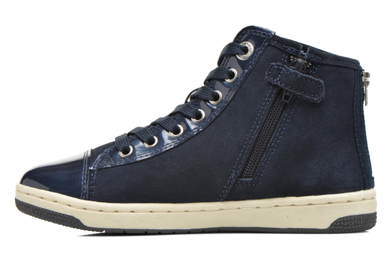 Sneaker Geox J Creamy A J64L5A blau ansicht von vorne