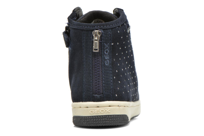 Sneaker Geox J Creamy A J64L5A blau ansicht von rechts