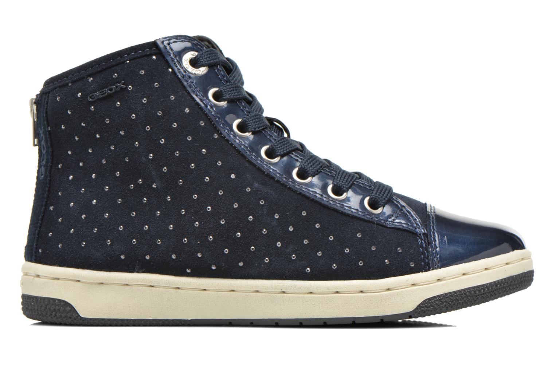 Sneaker Geox J Creamy A J64L5A blau ansicht von hinten