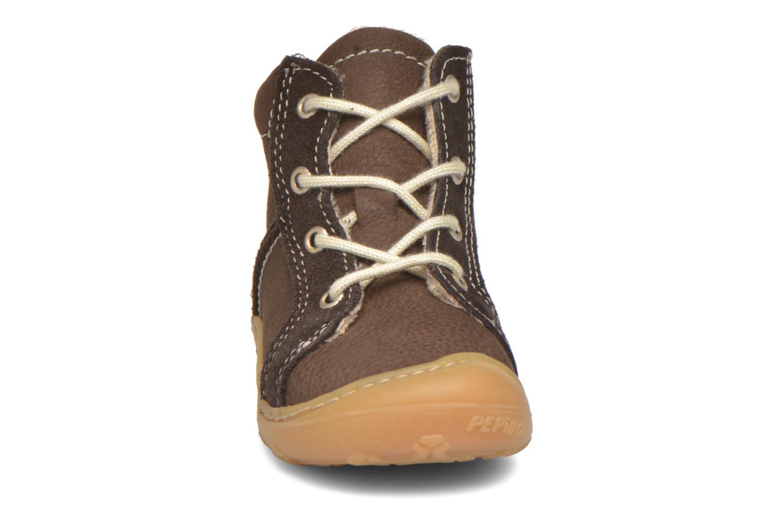 Chaussures à lacets PEPINO George Marron vue portées chaussures