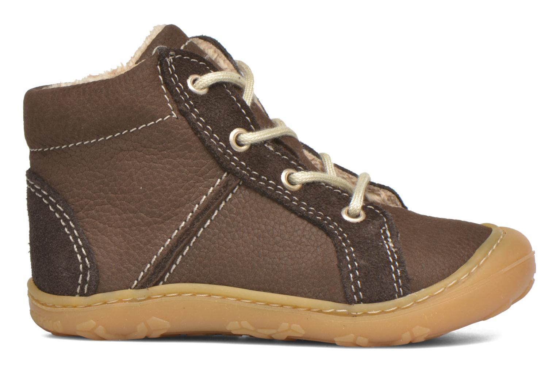 Chaussures à lacets PEPINO George Marron vue derrière