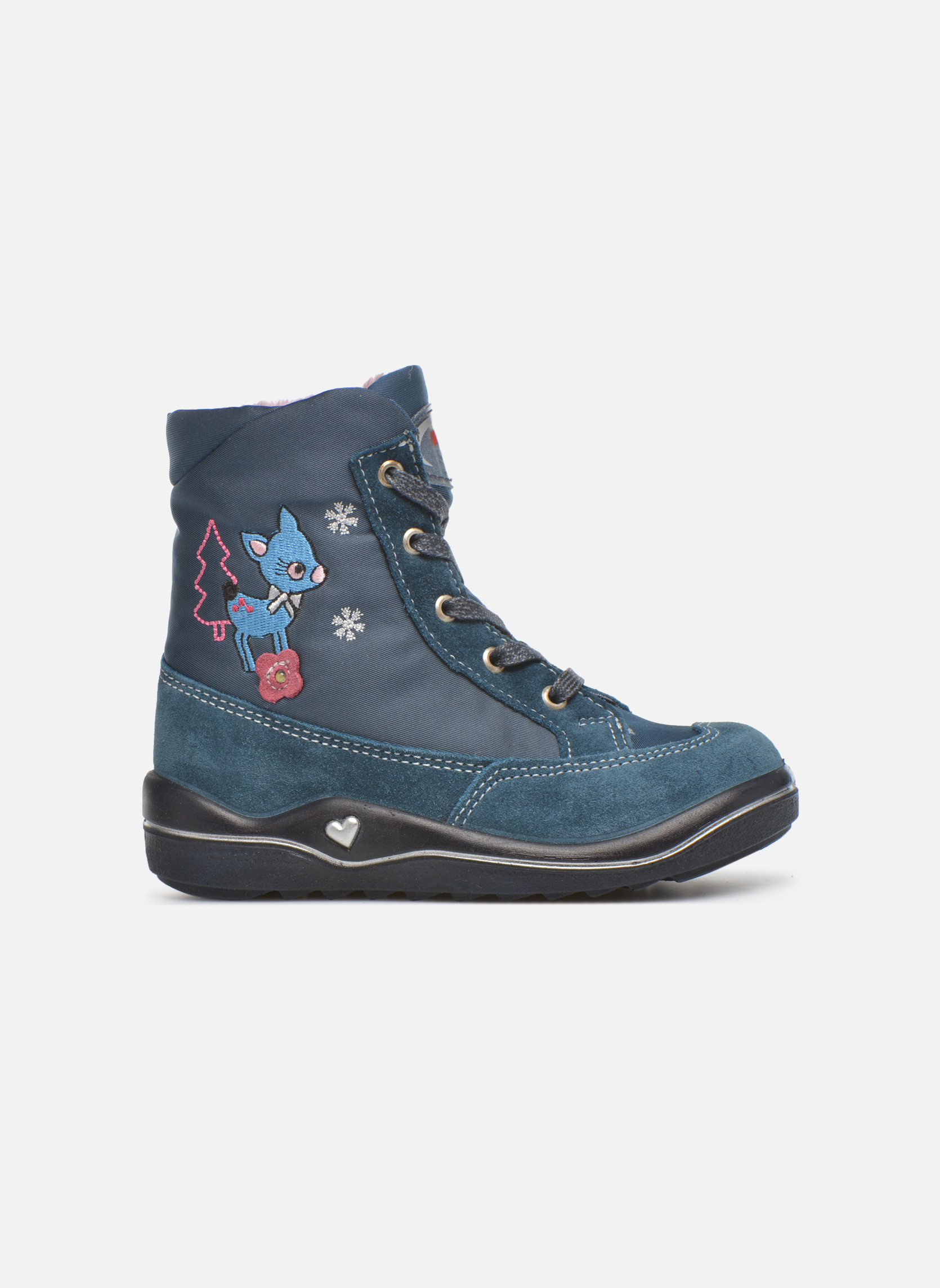 Ankle boots PEPINO Ruby Blue back view