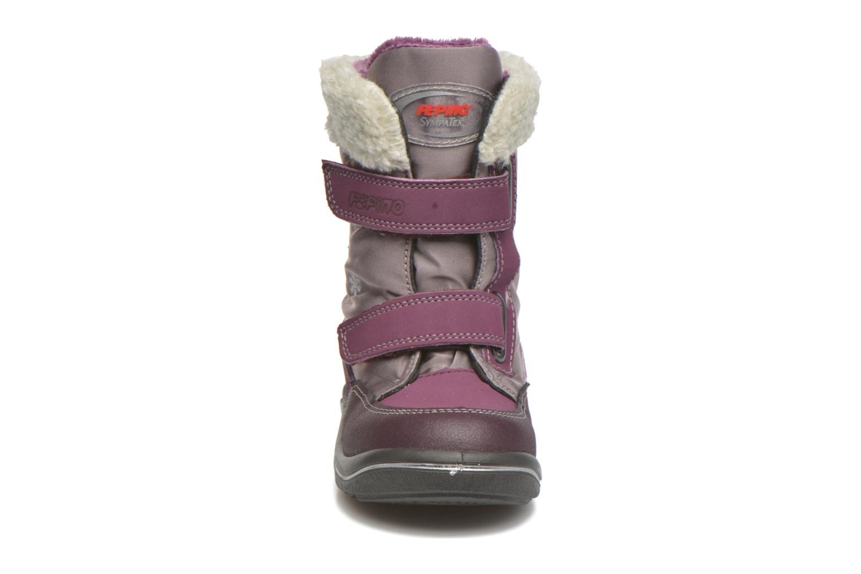 Ankle boots PEPINO Fenya Purple model view