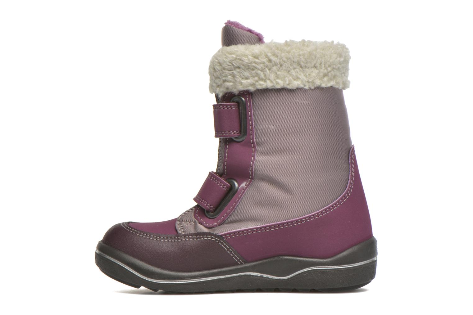 Ankle boots PEPINO Fenya Purple front view