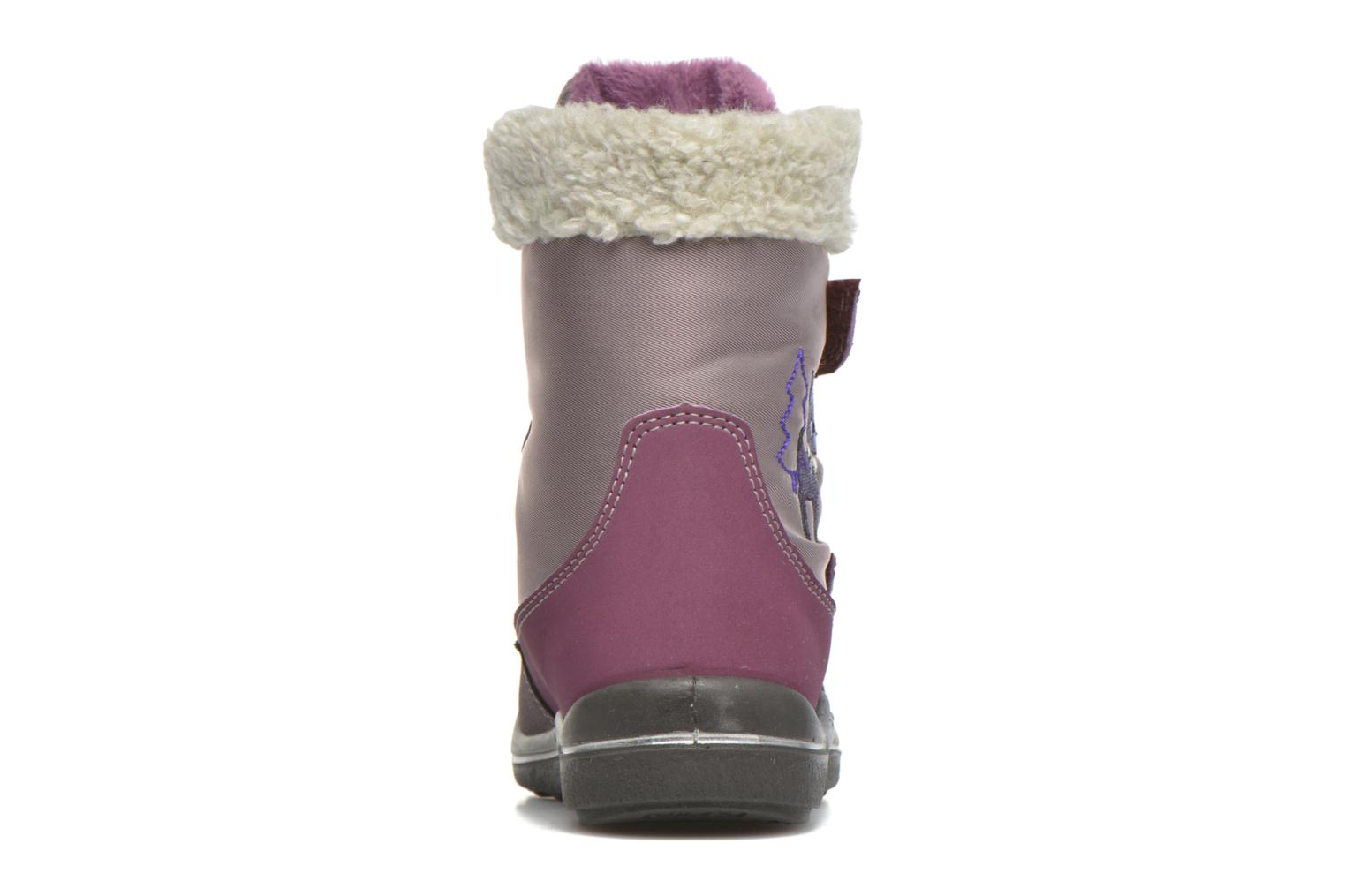 Ankle boots PEPINO Fenya Purple view from the right