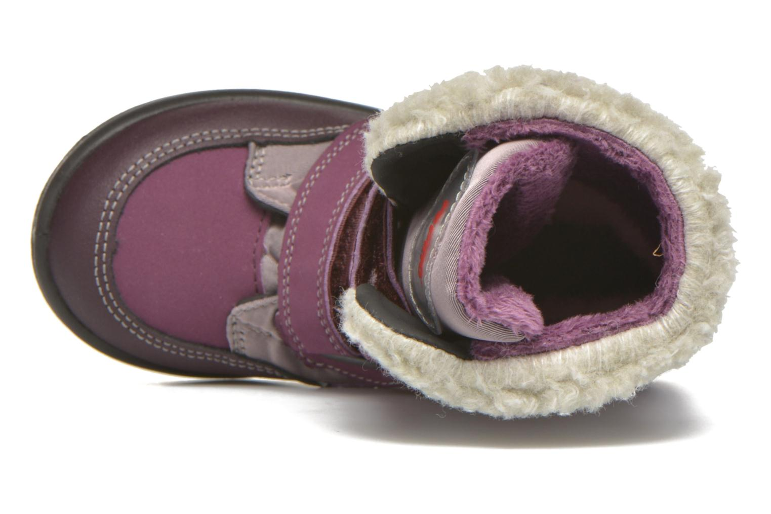 Ankle boots PEPINO Fenya Purple view from the left