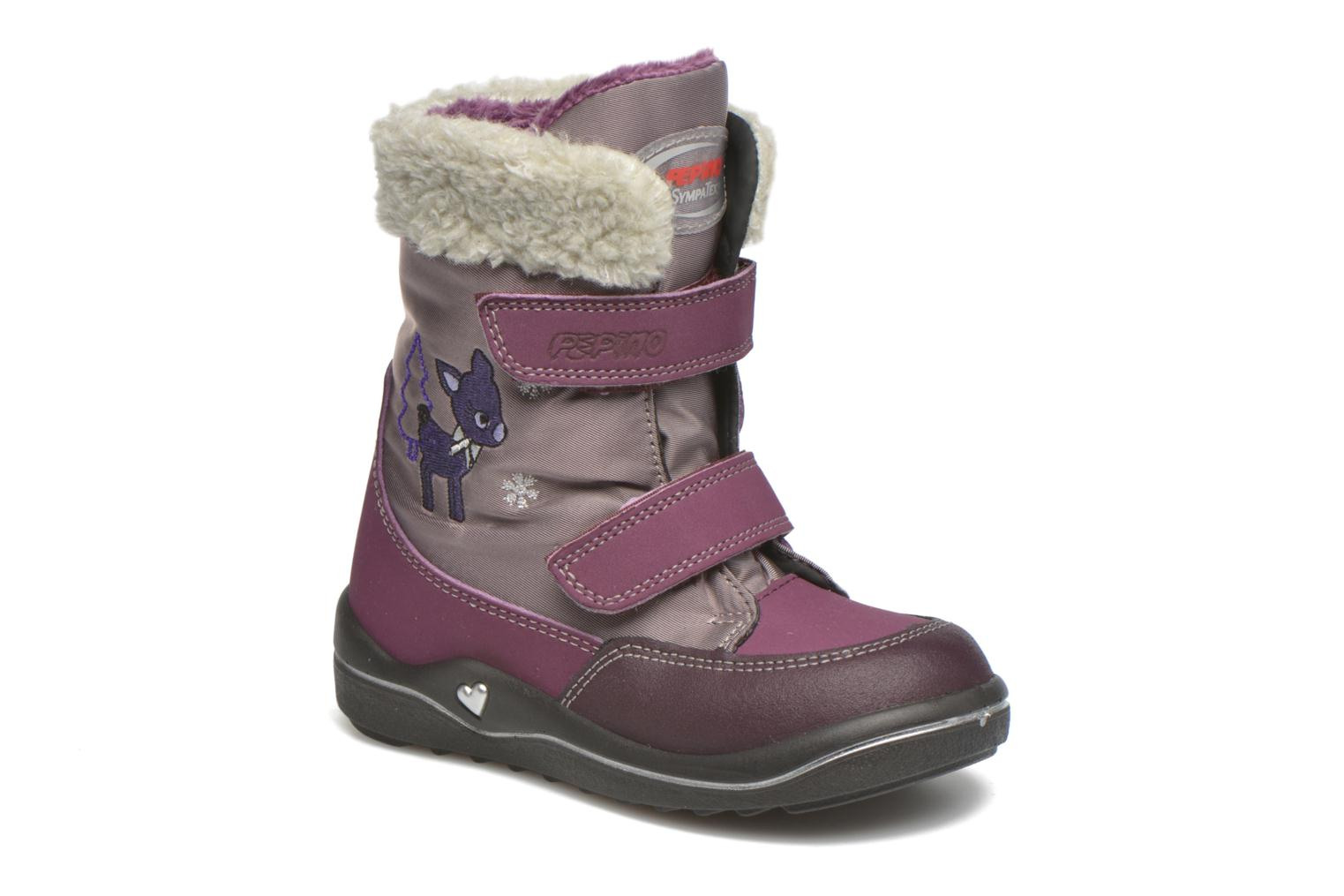 Ankle boots PEPINO Fenya Purple detailed view/ Pair view