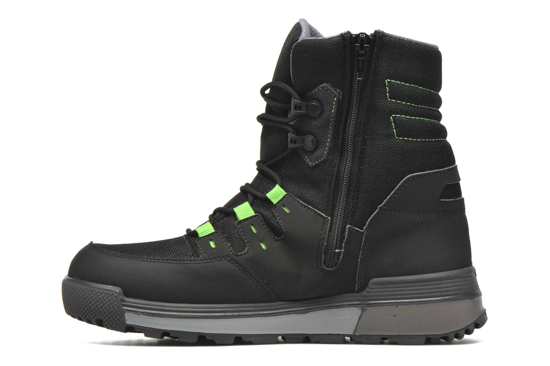 Boots en enkellaarsjes Ricosta Rax Zwart voorkant