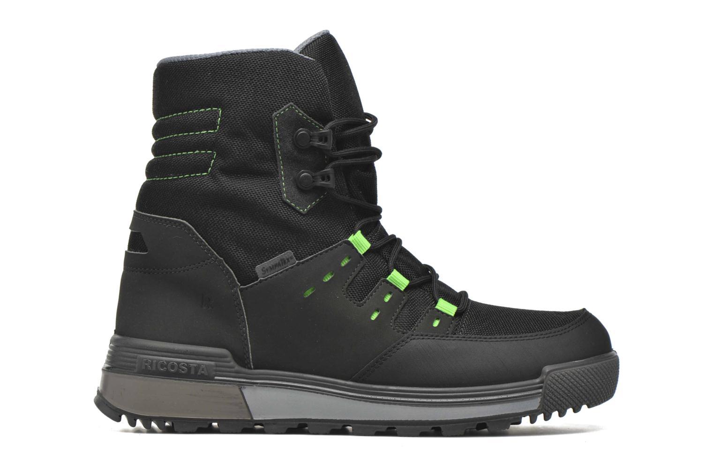 Boots en enkellaarsjes Ricosta Rax Zwart achterkant