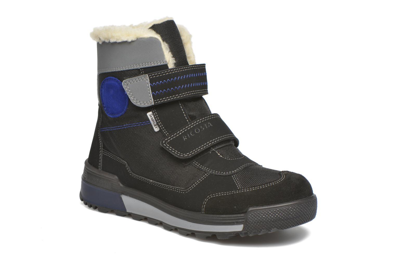 Bottines et boots Ricosta Kiehn Noir vue détail/paire