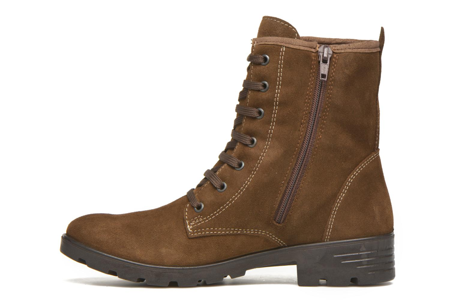 Ankle boots Ricosta Disera-tex Brown front view