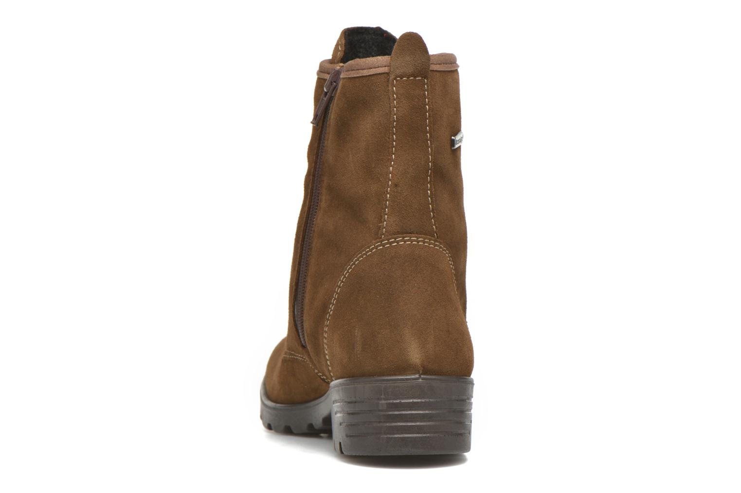 Ankle boots Ricosta Disera-tex Brown view from the right