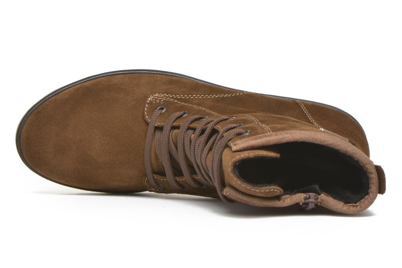 Stiefeletten & Boots Ricosta Disera-tex braun ansicht von links