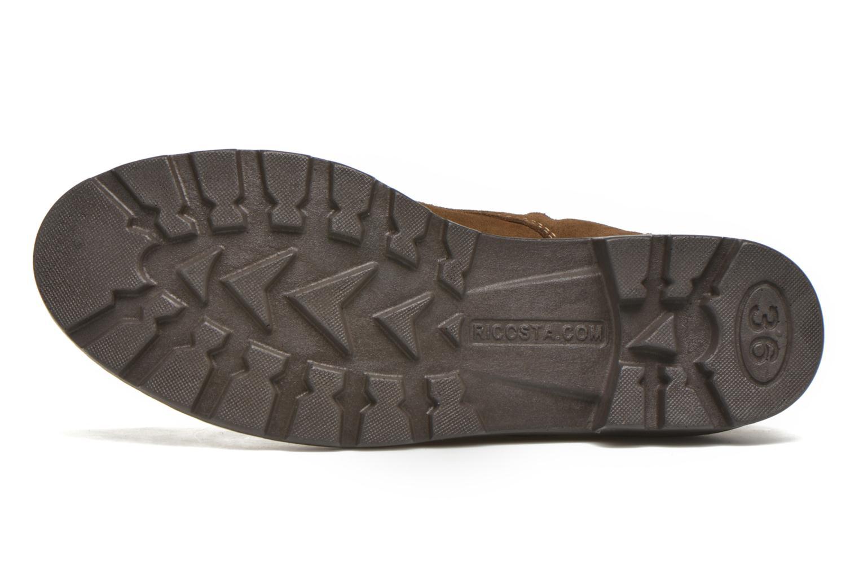 Stiefeletten & Boots Ricosta Disera-tex braun ansicht von oben