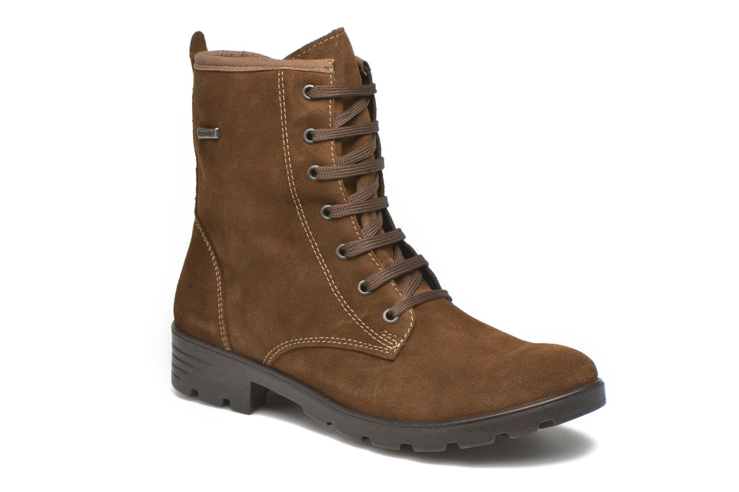 Ankle boots Ricosta Disera-tex Brown detailed view/ Pair view
