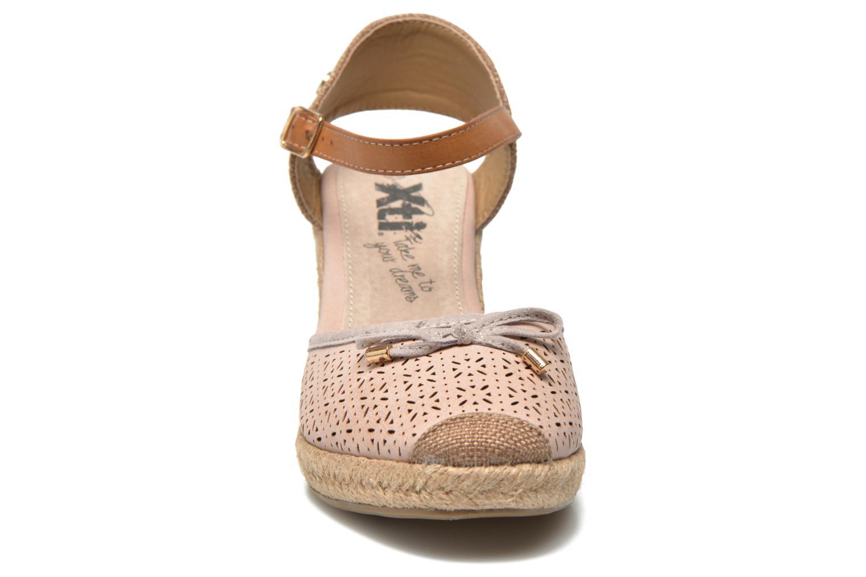 Espadrilles Xti Punta 45115 Beige vue portées chaussures