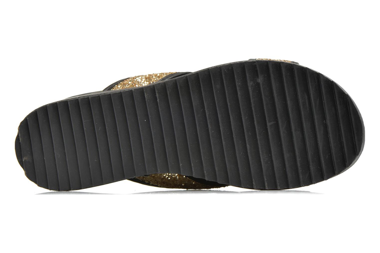 Clogs & Pantoletten Xti Levana 45234 gold/bronze ansicht von oben